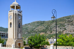 Alte Kapelle auf der Insel von Kreta Stockfotografie