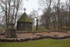 Alte Kapelle in Kernave Lizenzfreies Stockbild