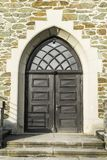 Alte Kapellen-Tür Stockbild