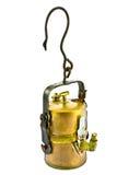 Alte Karbidbergmannlampe Lizenzfreie Stockfotografie