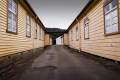 Alte Kasernen 01 Lizenzfreie Stockfotos