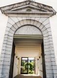 Alte Kasernen des Kazerne Dossin, Mechelen, Belgien lizenzfreies stockfoto