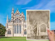 Alte Kathedrale Stockfoto