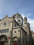 Alte Kathedrale in Dijon, Frankreich lizenzfreie stockfotos