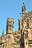 Alte Kathedrale in England Lizenzfreie Stockbilder