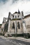Alte Kathedrale in Frankreich stockfoto