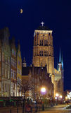 Alte Kathedrale Str.-Marys in Gdansk Lizenzfreies Stockfoto
