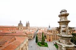 Alte Kathedrale von Salamanca, von Olivenölseife und von Leon, Spanien Stockfoto