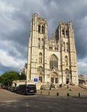 Alte Kathedrale von St Michael und von St. Gudula Es ist eine Römisch-katholische Kirche Lizenzfreies Stockfoto
