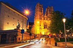 Alte Kathedrale von St Michael und von St. Gudula Es ist eine Römisch-katholische Kirche Stockfoto
