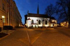 Alte katholische Kirche Stockfoto