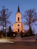 Alte katholische Kirche Stockbild