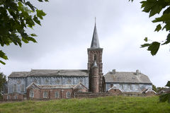 Alte katholische Kirche in Belgien Stockfotos