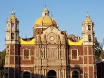 Alte katholische Kirchen-Basilika von Guadalupe in der Stadt von Mexiko Stockbild