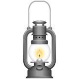 Alte Kerosin-Lampe Lizenzfreie Stockfotos