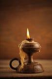 Alte Kerze lizenzfreie stockfotografie