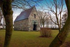 Alte Kirche Stockfoto