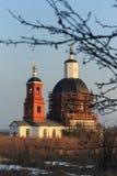 Alte Kirche auf dem Gebiet der Saburov-Festung Lizenzfreie Stockfotografie
