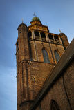 Alte Kirche in Brügge, Belgien Lizenzfreies Stockbild