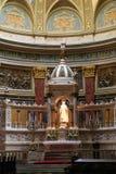 Alte Kirche in Budapest Stockbilder