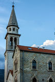 Alte Kirche in Budva, Montenegro. Stockfoto
