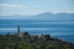 Alte Kirche in Dalmatien, Kroatien Stockfotos