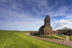 Alte Kirche am Dike Stockfotos