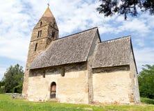 Alte Kirche gemacht von den Steinen Lizenzfreie Stockfotos