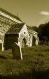 Alte Kirche, Hastings, Ost-Sussex, England lizenzfreies stockfoto