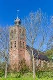 Alte Kirche im Dorf von Noordwolde lizenzfreie stockfotos