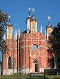 Alte Kirche im russischen Dorf lizenzfreie stockfotos
