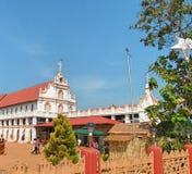 Alte Kirche in Indien Lizenzfreies Stockfoto