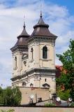Alte Kirche in Leszno, Polen Lizenzfreies Stockbild