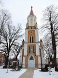 Alte Kirche, Lettland lizenzfreies stockfoto