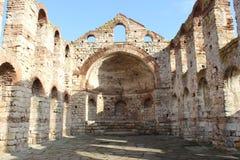 Alte Kirche in Nesebar, Bulgarien Stockfotos