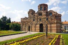 Alte Kirche in Nessebar, Bulgarien Lizenzfreie Stockfotos