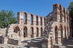 Alte Kirche in Nessebar, Bulgarien Stockbild