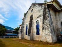 Alte Kirche, oslob, Cebu, Lizenzfreie Stockfotografie