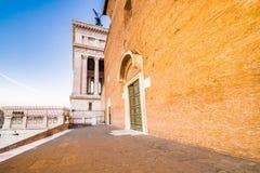 Alte Kirche in Rom Lizenzfreies Stockfoto