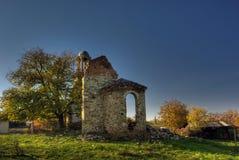 Alte Kirche in Rudina-Dorf, Bulgarien Stockfotos