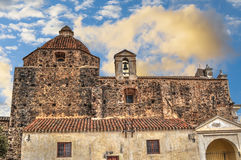 Alte Kirche in Sardinien Lizenzfreie Stockfotografie