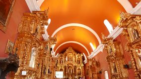 Alte Kirche St. Maria Magdalena in Lima Stockfoto