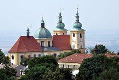 Alte Kirche, Stadt Olomouc, Tschechische Republik, Europa Stockbilder