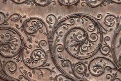 Alte Kirche-Tür Stockfoto