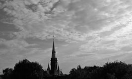 "Alte Kirche in Torun, Polen, ToruÅ-"", Polska, Heiliges Catherine von Alexandria Stockfotos"