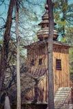 Alte Kirche unserer Dame von Czest Stockbilder