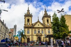 Alte Kirche von Aparecida stockfotografie