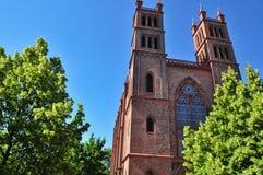 Alte Kirche von Berlin stockfotos