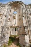 Alte Kirchen- und Abteiruinen im Loire Valley, Frankreich, Lizenzfreie Stockfotos