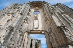 Alte Kirchen- und Abteiruinen im Loire Valley, Frankreich, Stockbild
